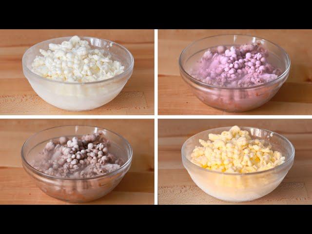 Liquid Nitrogen Ice Cream 4 Ways
