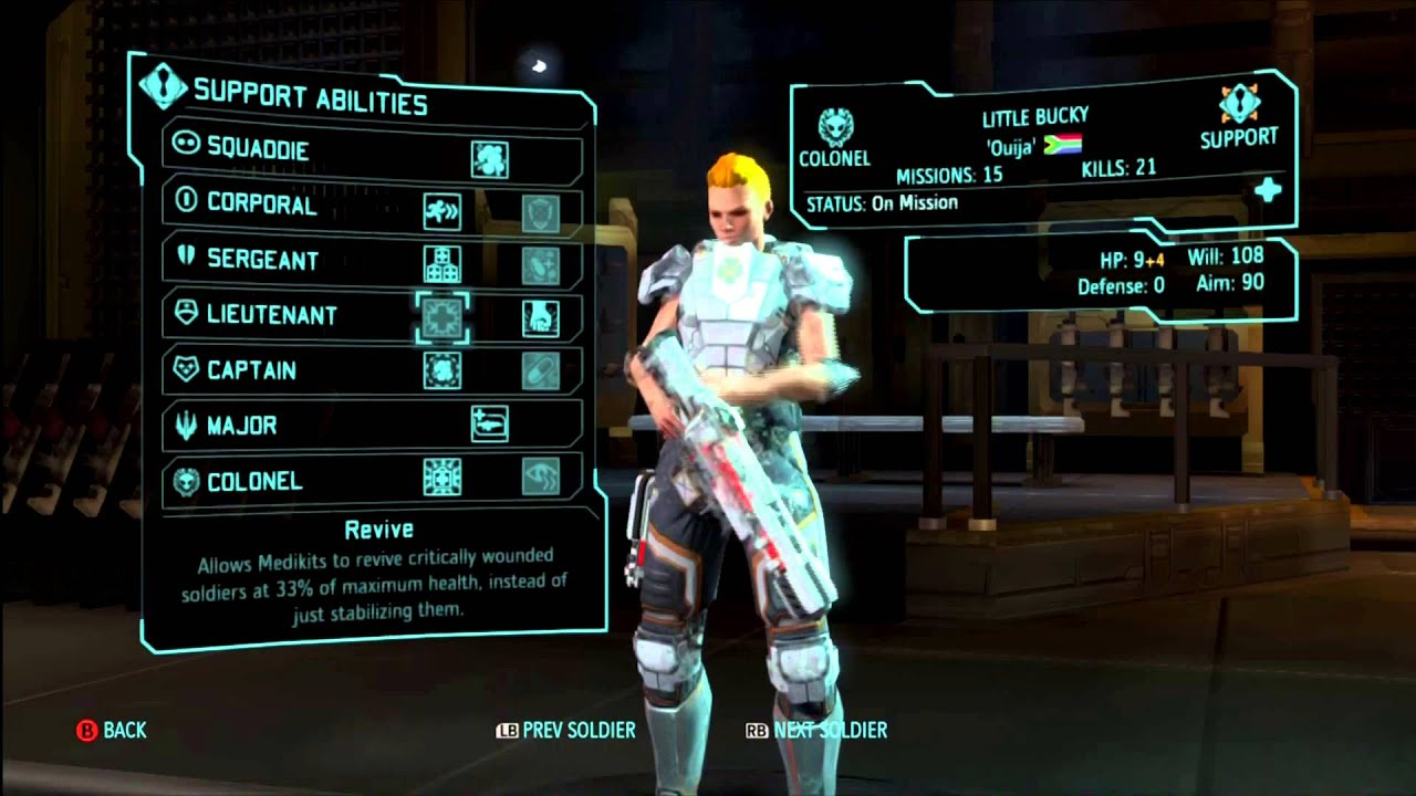 Xcom enemy within support class guide and skills for Portent xcom not now