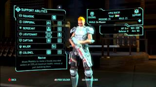 XCOM: Enemy Within -  Support Class Guide and Skills walkthrough/tutorial/tips