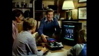 Atari Space Invaders 1980 TV commercial