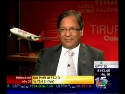CNBC Flying Out Of Turbulence : Ajay Singh Chairman, Spicejet