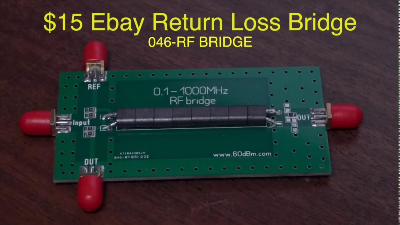 15 ebay return loss bridge