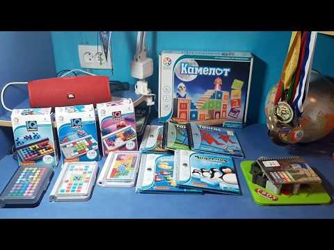 Игры-головоломки для детей от  Bondibon