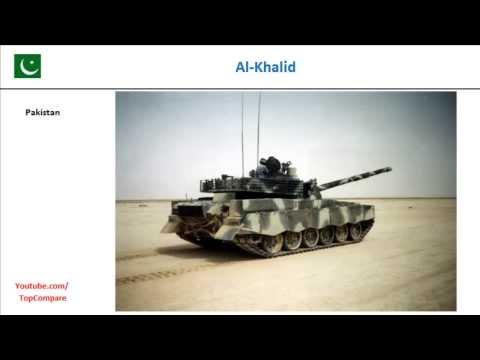 Al-Khalid vs T-84, Main Battle Tank Key features comparison