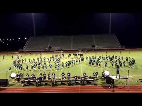 """Central Lafourche High School Band Performing 2015 Show Titled """"Cosmos"""""""