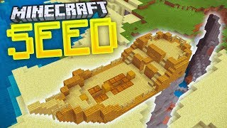 Download Shipwreck On Land At Spawn Seed In Minecraft Mcpe