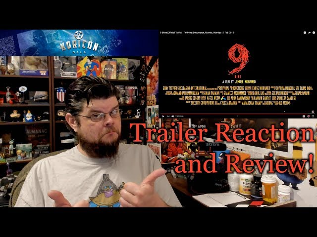 9 (Nine) - Malayalam Trailer Reaction Review!