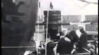 Launching HMS Lion 1910