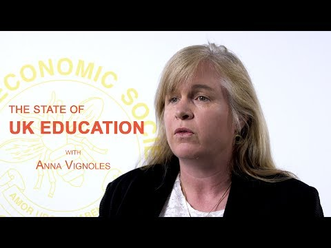 The State of UK Education - Anna Vignoles