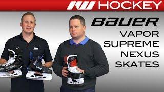 2017 Bauer Vapor, Supreme & Nexus Skate Line Insight (1X, 1S, 1N)