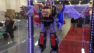 First look at the Ninja Falcon megazord | Airlim