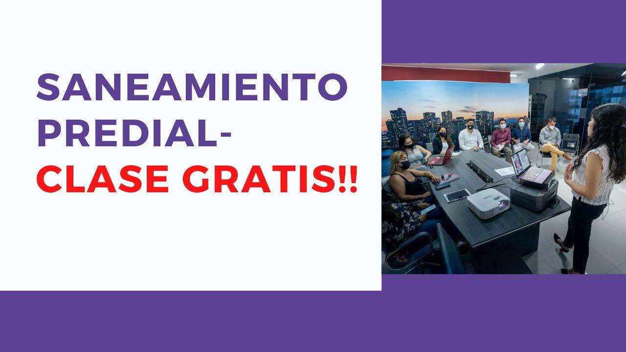 SANEAMIENTO FISICO LEGAL de INMUEBLES en Perú (2021)