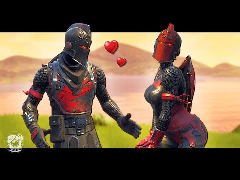 BLACK KNIGHT FALLS IN LOVE - A Fortnite Short Film