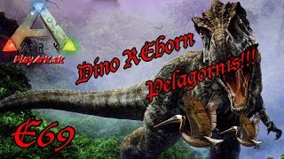 Обложка на видео о ARK : Survival Evolved : Dino REborn E69 - Pelagornis!!(CZ/SK)