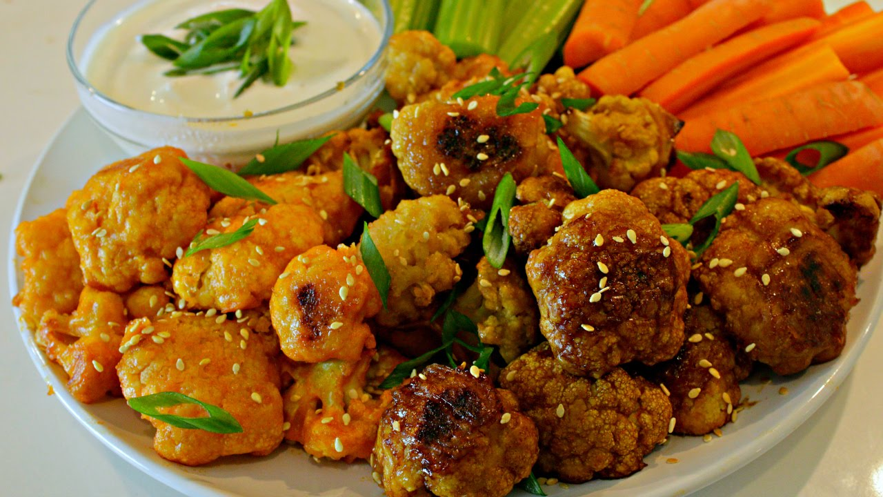 Cauliflower Wings   3 Easy Baked Recipes
