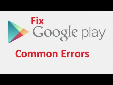 Google Play Store Error!! Fix - Howtosolveit