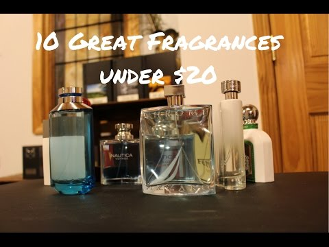 10 Great Colognes For Under $20 - Affordable Cheap Fragrances