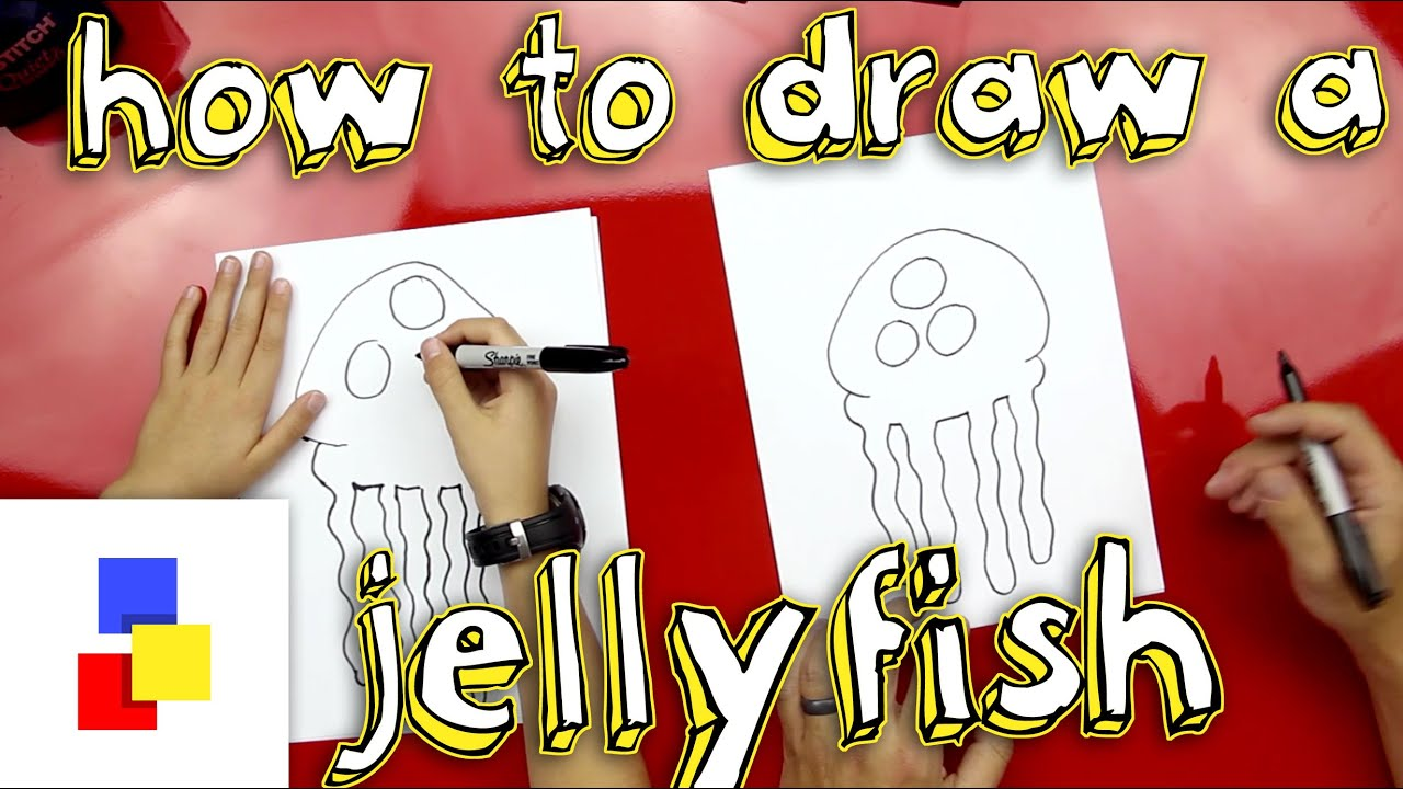 how to draw a jellyfish from spongebob youtube