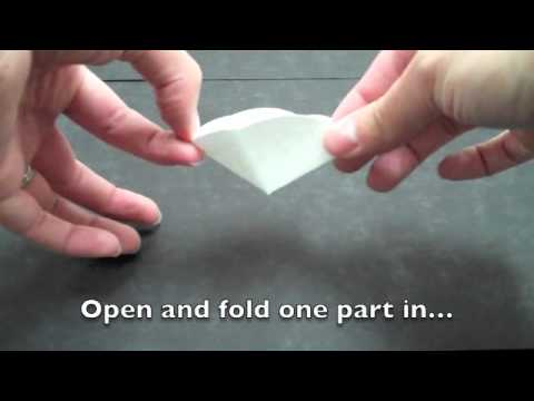 folding filter paper youtube