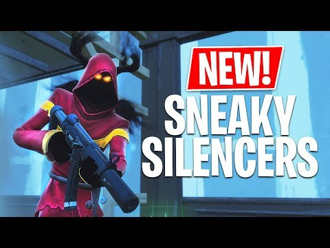 *NEW* Sneaky Silencers & Food Fight Game Modes! *Pro Fortnite Player* (Fortnite Live Gameplay)