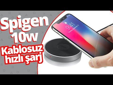 Spigen F306W Hızlı Kablosuz Şarj Ünitesini, Galaxy S9+ Ile Test Ettik!