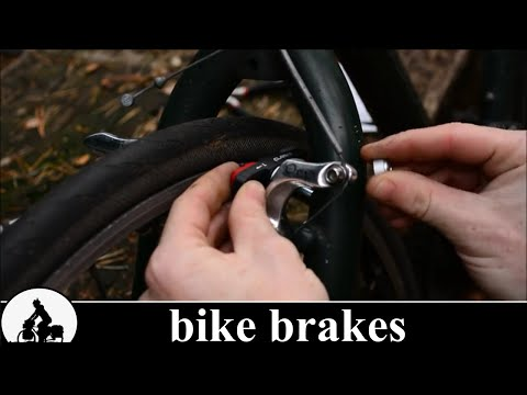a touring bike is born - bicycle brakes