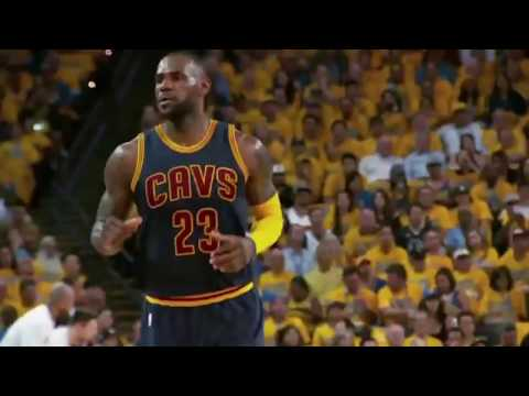 Lebron the Lion King - Cleveland Cavaliers - NBA Finals Game 6 Hype