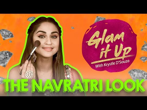 Navratri Look with Krystle D'souza | Glam it up