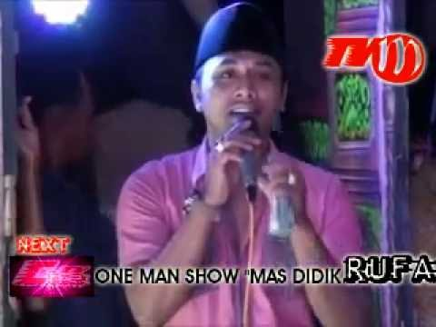 RUKUN FAMILI. one man swoh. MAS DIDIK RUFA. TV MADURA