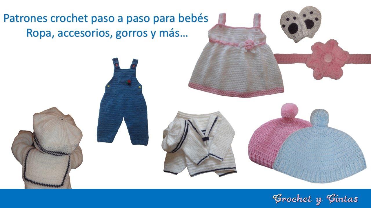 Ropa, accesorios, gorros y más para bebés hechos paso a paso a ...