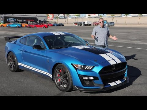 2020 Ford Mustang Shelby GT500 Test Drive Video Review