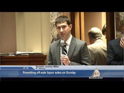 Senate Passes Bill Allowing Off-Sale Liquor Sales on Sunday