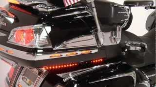 Gold Wing Video Map: Rear Chrome and Lighting