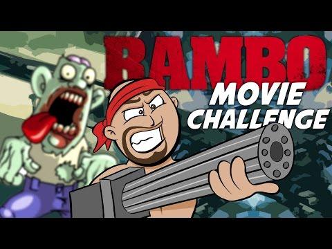 RAMBO MOVIE CHALLENGE ★ Call of Duty Zombies