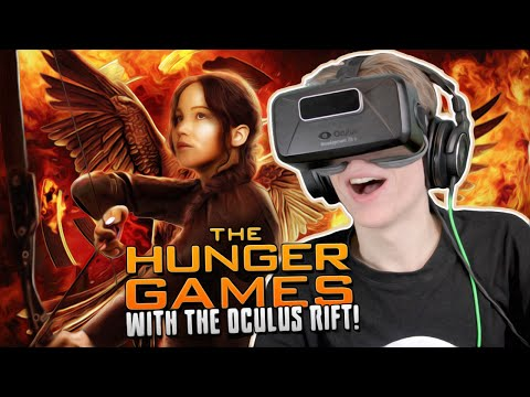 The Hunger Games: Virtual Experience with the Oculus Rift: DK2!