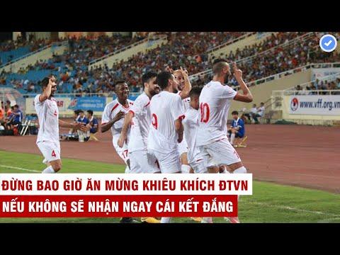 Ăn Mừng Khiêu Khích HLV Park Và ĐTVN | Đội Bóng Tây Á Nhận Ngay Cái Kết đắng | Mãn Nhãn TV