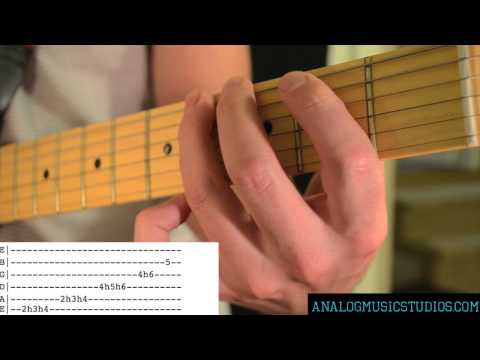 Santeria Solo By Sublime Guitar Lesson With Tab