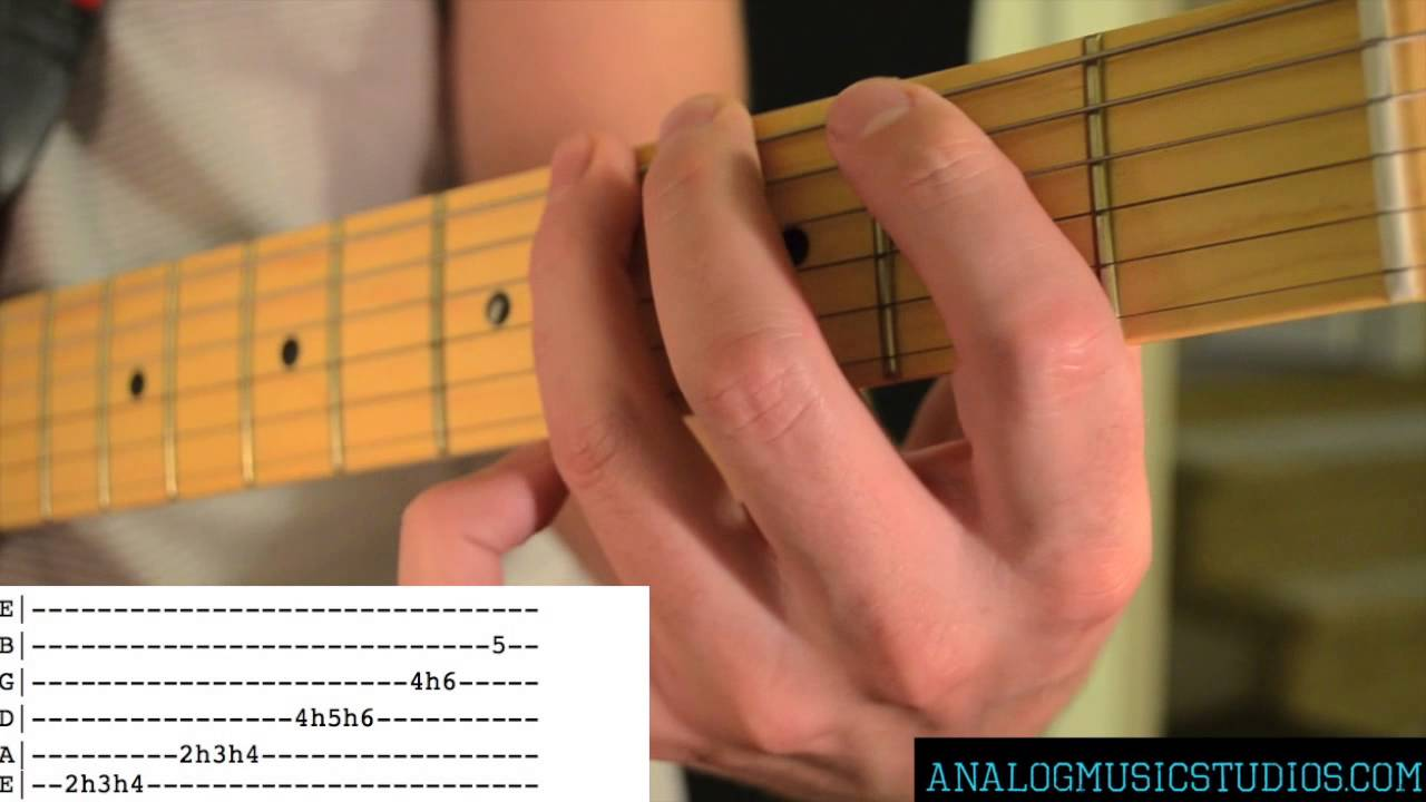 Santeria Solo By Sublime Guitar Lesson With Tab Youtube