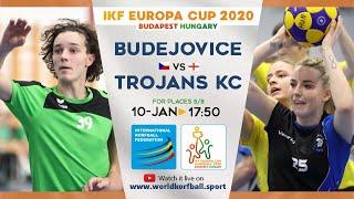 IKF ECup 2020 Ceské Budejovice (KCC SOKOL) - Trojans KC