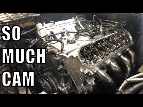 C5 Corvette Heads and Cam Part 2! It's Alive!!