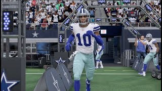 Madden 20 Gameplay - Dallas Cowboys vs San Francisco 49ers (Madden NFL 20)