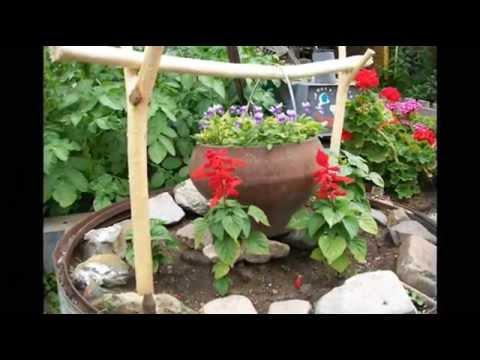 Ландшафтный дизайн огорода и сада на даче фото и видео идей