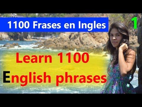 Aprender Ingles 1100 Frases En Ingles   Learn English speaking in Spanish for beginners