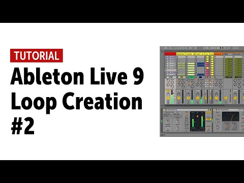 Ableton Live 9 - Loop Creation Tutorial with real drums for Drummers & Producers #2 mp3