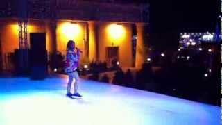 Asanda Jezile - ITV'S BRITAIN'S GOT TALENT - Boxing day at SOHO Square Sharm el-Sheikh