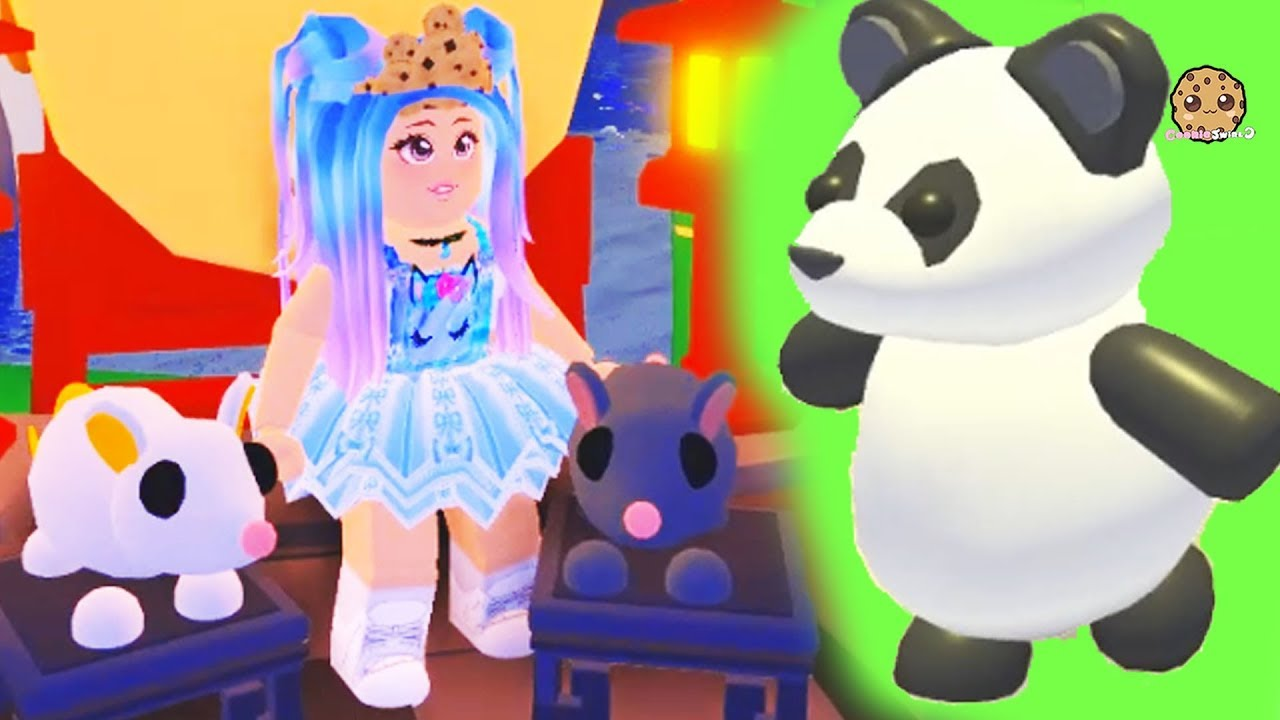 Buying Lunar New Year Rat Panda Pets Roblox Adopt Me Online
