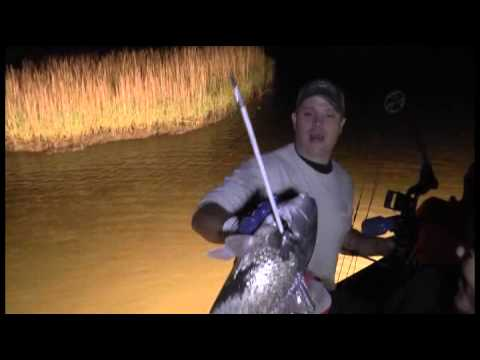 Warrior Hunts Big Dog Bowfishing