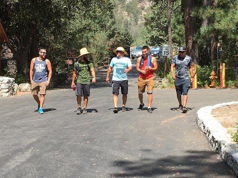 Camping at Mt. San Jacinto, CA. in HD