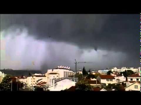 intense tornado in tomar portugal on december 7th 2010 hd footage