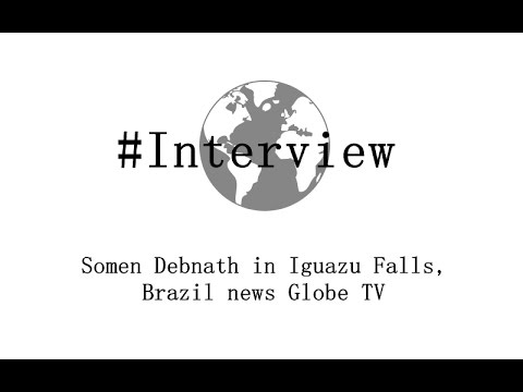 Somen Debnath in Iguazu Falls, Brazil news Globe TV